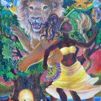 Jah and Oshun Note Card