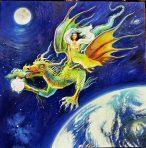 Quan Yin & the Dragon