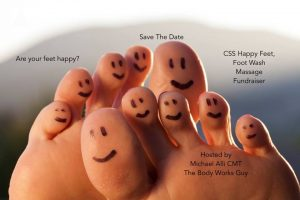 CSS Happy Feet, Foot Wash Massage Fundraiser @ CSS Guerneville | Guerneville | California | United States