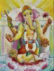 Ganesha Note Card