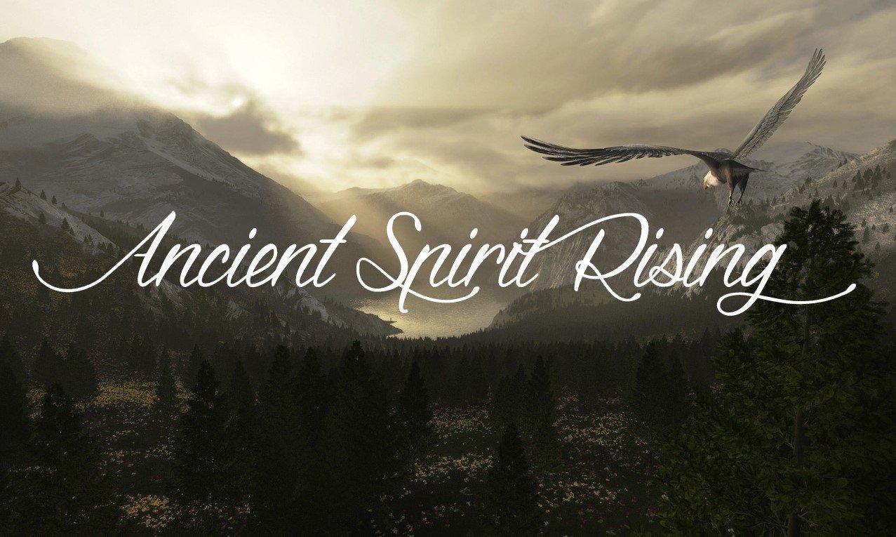 Ancient Spirit Rising Eagle Flying