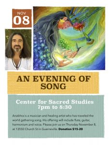 An Evening of Song with Anabhra @ CSS Guerneville | Guerneville | California | United States