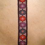 """Huichol Beaded Bracelet """"Prayer"""""""