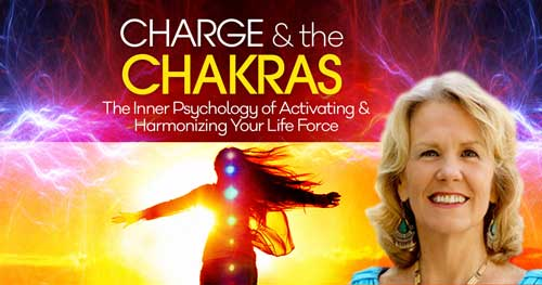 Virtual Video: Charge & the Chakras with Anodea Judith @ The Shift Network