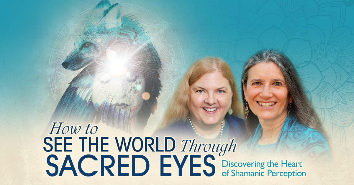 Virtual Event:How to See the World Through Sacred Eyes with Sandra Ingerman & Evelyn Rysdyk @ The Shift Network
