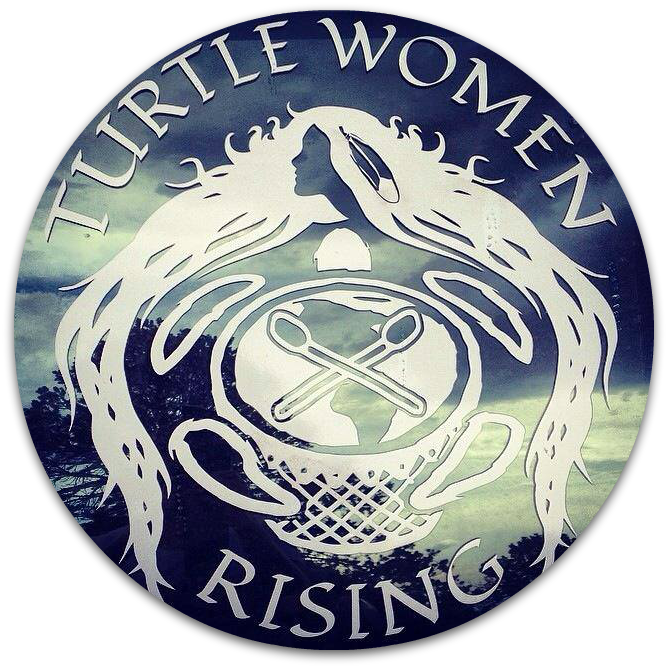 Turtle Women Rising logo round
