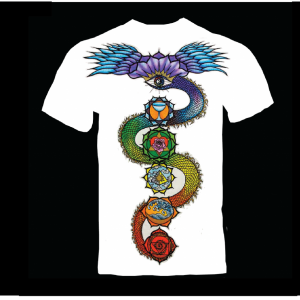 T-SHIRTS, CLOTHING, PRAYER FLAGS, BAGS, & TAPESTRIES