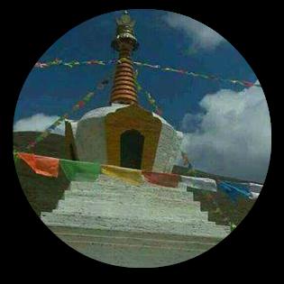 stupa round