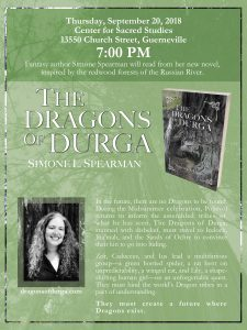 The Dragons of Durga Book Release Party & Reading by Simone